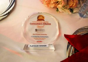 Platinum Best Private University Award