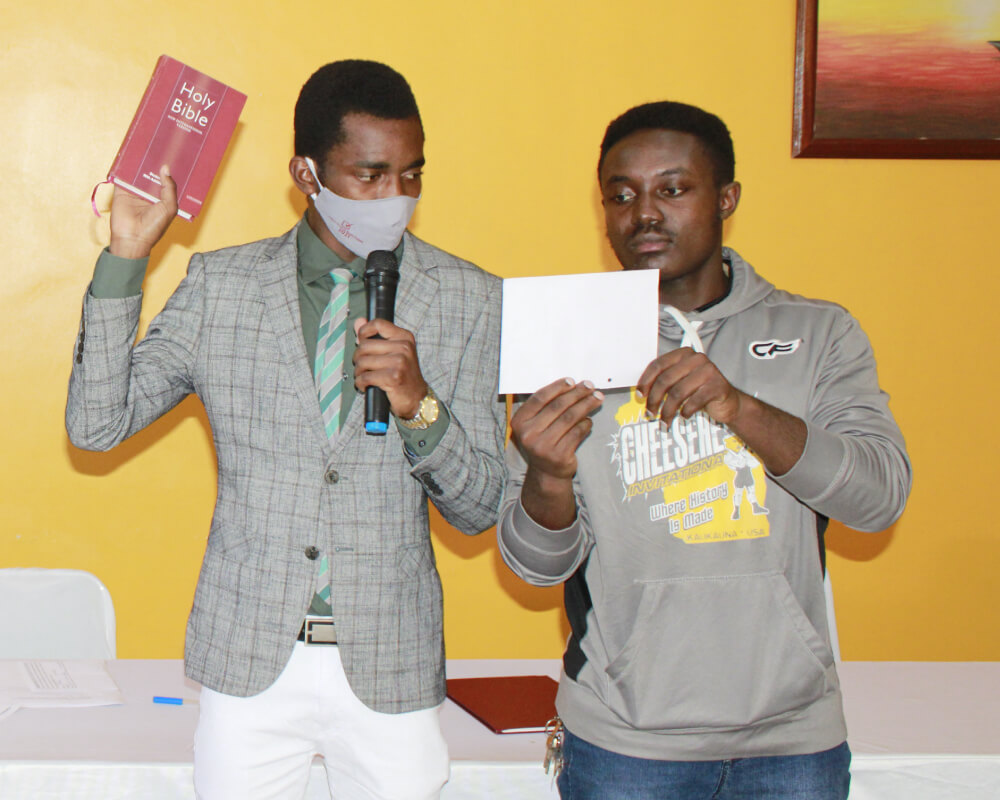 Guild Swearing-In Ceremony 2021
